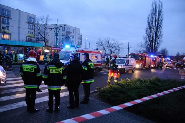 Zderzenie tramwajów w Poznaniu - 20 osób rannych, pijany motorniczy