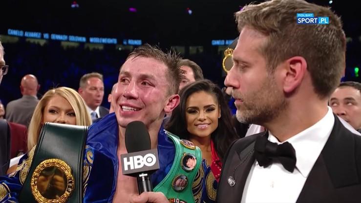 Gołowkin vs Alvarez: wywiady po walce