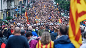 Wielotysięczne manifestacje w Hiszpanii. Na ulice wyszli zwolennicy i przeciwnicy katalońskiego referendum