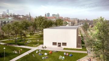 27-10-2016 08:19 Nad Wisłą powstaje składany pawilon. Tymczasowa siedziba Muzeum Sztuki Nowoczesnej