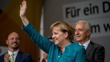 """""""Kłamczucha!"""", """"Obłudnica!"""". Merkel wyzwana od zdrajców na wiecach w Saksonii i Turyngii"""