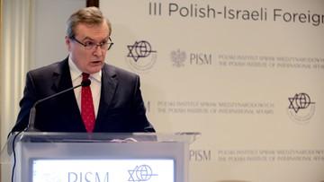 Gliński: nigdy nie przestaniemy czuć się odpowiedzialni za pamięć o polskich Żydach