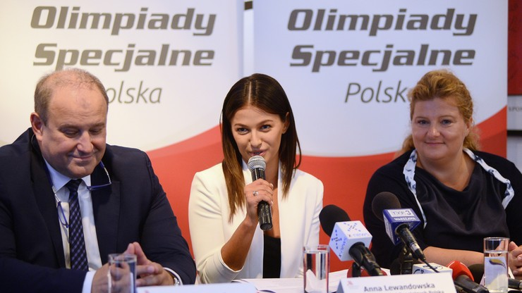 Lewandowska: Chcę pokazywać wspaniałych zawodników Olimpiad Specjalnych