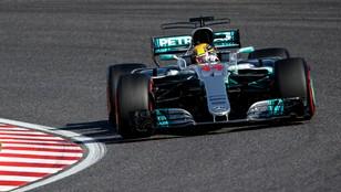 Formuła 1 - Lewis Hamilton wygrał Grand Prix Japonii