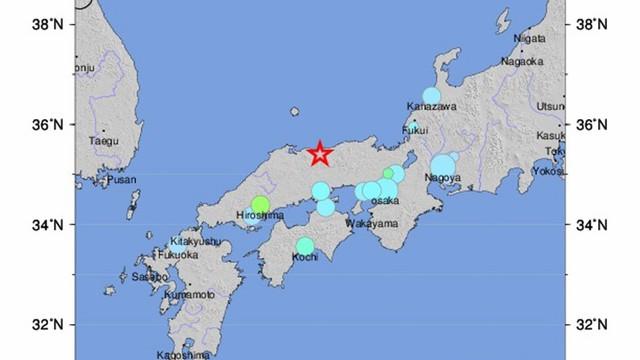 Japonia: Silne trzęsienie ziemi; nie ma zagrożenia tsunami
