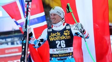 2016-12-17 Franz wygrał zjazd w Val Gardenie