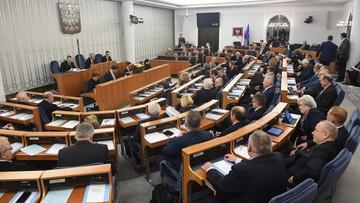 12-12-2017 18:36 Senat po przerwie na wysłuchanie expose Mateusza Morawieckiego wznowił posiedzenie. Zajął się ustawami o KRS i SN