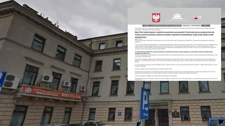 """""""Za przelaną krew dla Polski zostałem nagrodzony dezubekizacją"""". Wzruszający list 95-letniego powstańca"""
