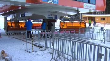 Początek sezonu zimowego w Karpaczu