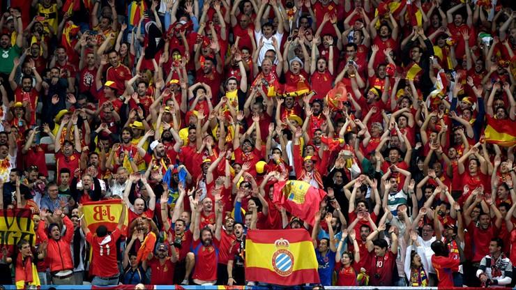 Euro 2016: Grupa kibiców hiszpańskich deportowana z Francji