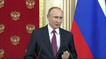 """18-01-2017 18:31 Putin mówi o rosyjskich prostytutkach, że są """"najlepsze na świecie"""". I broni Trumpa"""