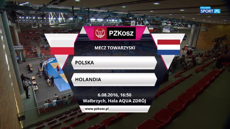 Polska - Holandia 82:64. Skrót meczu