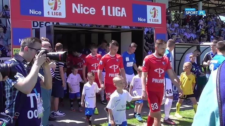 Sandecja Nowy Sącz - Wisła Puławy 0:0. Skrót meczu