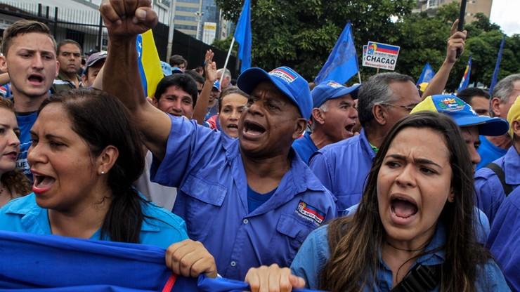 Wenezuela: opozycja protestuje przeciw interwencjom policji wobec demonstrantów