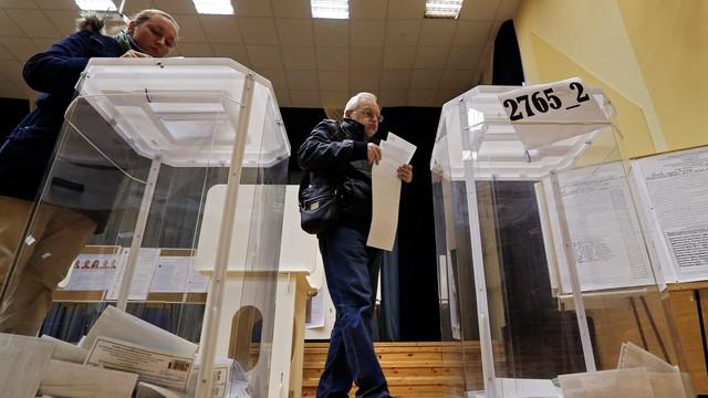 Ukraina: parlament uznał wybory w Rosji za nieprawomocne