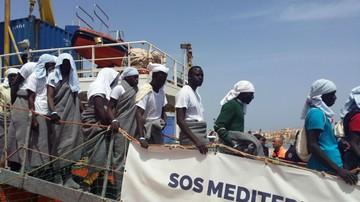 20-04-2016 16:58 Zatonął statek na Morzu Śródziemnym. Mogło zginąć nawet 500 osób