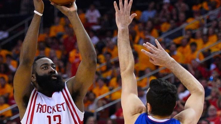 NBA: Harden nie pozwolił Rakietom odpaść z gry o finał
