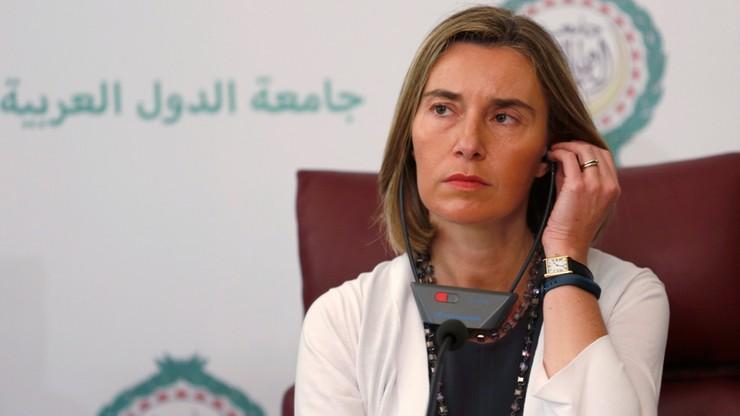 Bierność wobec rosyjskiej propagandy. Mogherini  krytykowana m.in. przez Saryusz-Wolskiego i Applebaum