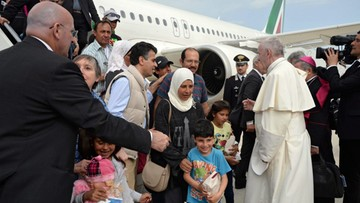 18-04-2016 17:31 Kim są uchodźcy, których papież zabrał do Watykanu