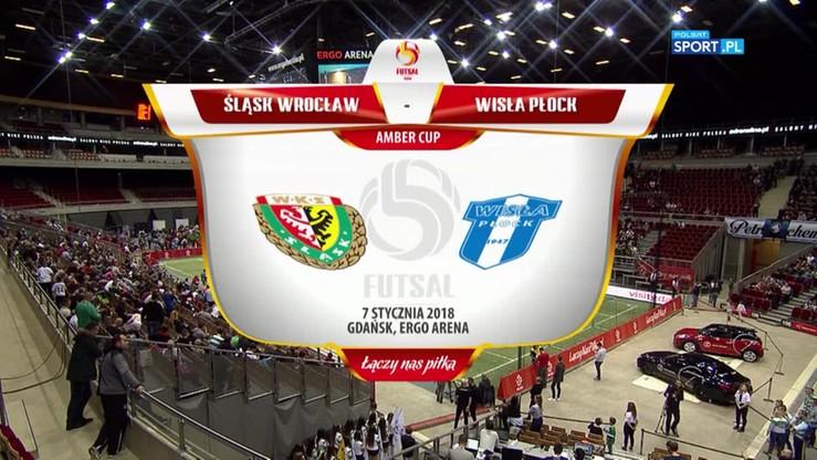 Amber Cup: Śląsk Wrocław - Wisła Płock 1:3. Skrót meczu