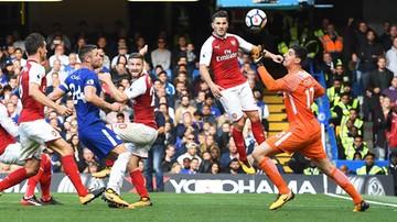 2017-09-17 Kibic Arsenalu świętował po nieuznanym golu. Został wyrzucony ze stadionu