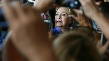 02-07-2016 20:02 Clinton przesłuchana przez FBI ws. prywatnej skrzynki e-mail