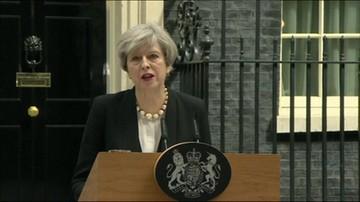 Wystąpienie premier Wielkiej Brytanii po ataku w Manchesterze