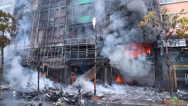 Wietnam: premier zarządził śledztwo po tragicznym pożarze