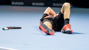 2016-11-03 ATP Paryż: Wawrinka wyeliminowany w 2. rundzie