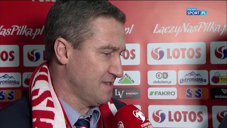 Michalski: Wiatr bardzo przeszkadzał piłkarzom w grze