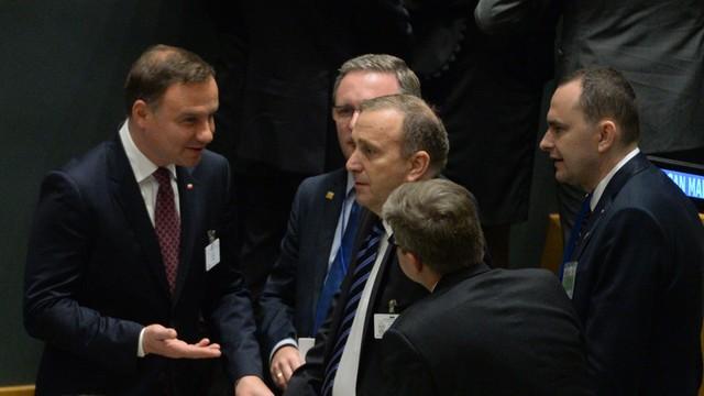 Schetyna: Przemówienie prezydenta pokazało jedność polityki zagranicznej