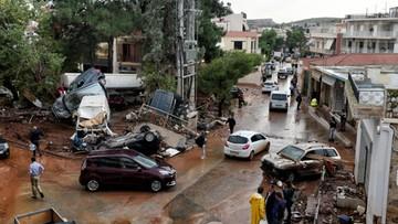 18-11-2017 13:34 Powodzie w Grecji. Nie żyje 19 osób, bilans może wzrosnąć