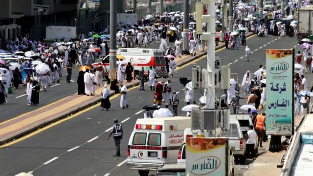 Bilans ofiar pielgrzymki do Mekki wzrósł do ponad 1 750 osób