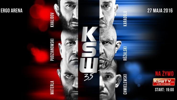 KSW 35: Biuletyn przed galą w Ergo Arenie dostępny online!