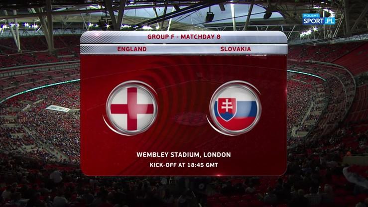 2017-09-04 Anglia - Słowacja 2:1. Skrót meczu