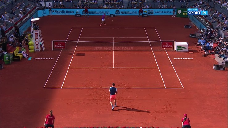 ATP w Madrycie: Nadal - Thiem 2:0. Skrót meczu finałowego