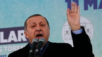 12-03-2017 18:21 Kolejna odsłona dyplomatycznej wojny. Erdogan nawołuje do sankcji wobec Holandii