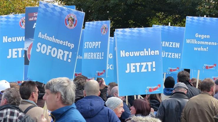 Antyimigrancka AfD trzecią siłą polityczną w Niemczech