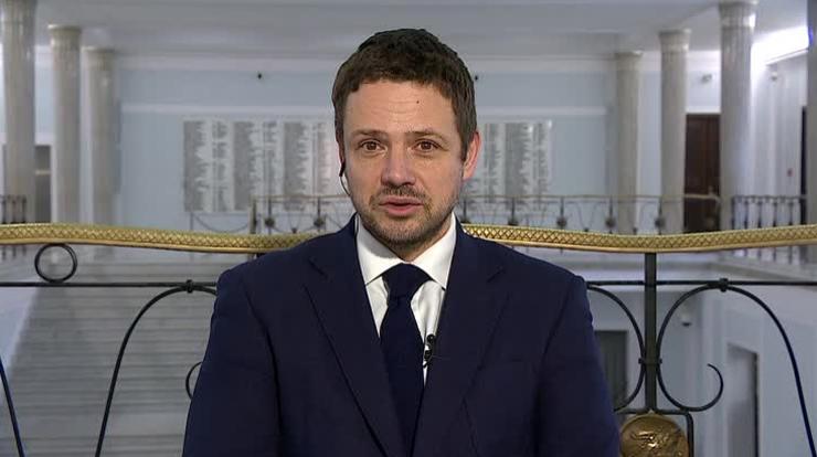"""""""Nie ponosi żadnej odpowiedzialności, ponosi ją prezydent i premier"""" - Trzaskowski o szefie PiS"""