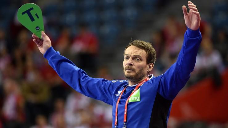 Trener Norwegii z trudem dotrwał do końca meczu z Polską. Źle działa na niego hałas