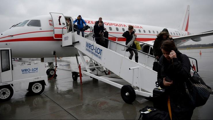 Prezydencki samolot z przyczyn technicznych nie odleci z Wrocławia do Warszawy