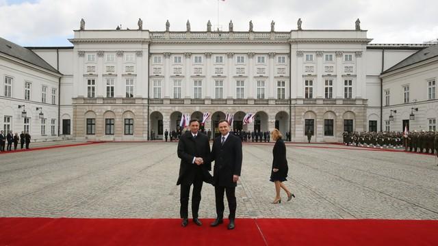 Prezydent Słowenii z wizytą w Polsce