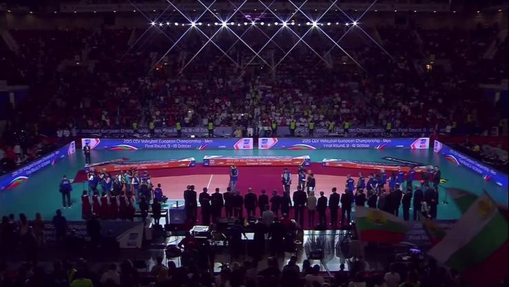 2015-10-18 ME siatkarzy: Ceremonia wręczenia medali
