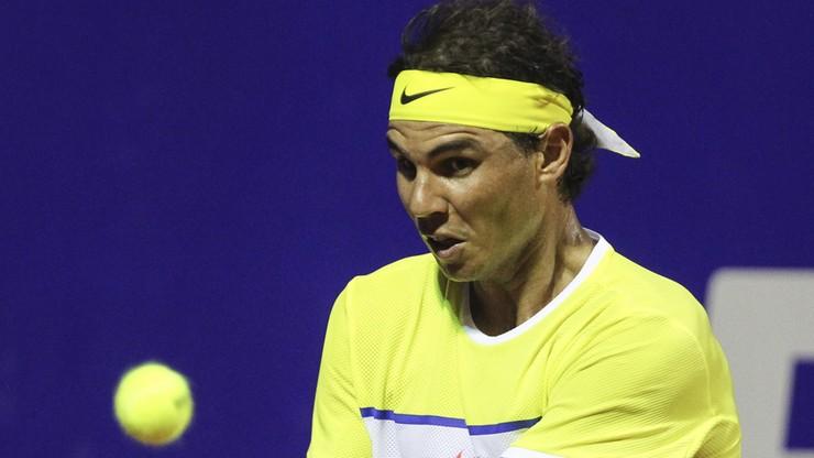Nadal w półfinale w Buenos Aires