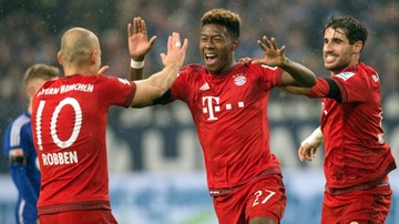 2015-11-21 Bayern pokonał Schalke, Lewandowski bez gola
