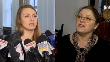 Użyła przemocy. Platforma chce ukarania Krystyny Pawłowicz