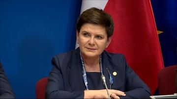 """09-03-2017 20:56 """"Zgłosiłam, iż nie będę przyjmować konkluzji z tego szczytu UE """""""