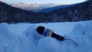 """20-01-2017 13:04 """"Bezpieczna Zima z GOPR"""" - weekend Polsat News w Ustrzykach Dolnych"""