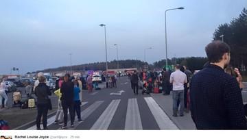 05-04-2016 21:16 Ewakuacja dwóch warszawskich lotnisk. Policja zatrzymała podejrzanego