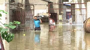 Największe od 60 lat ulewy i powodzie na południu Chin. Kilkadziesiąt ofiar